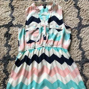 Rue 21 chevron dress